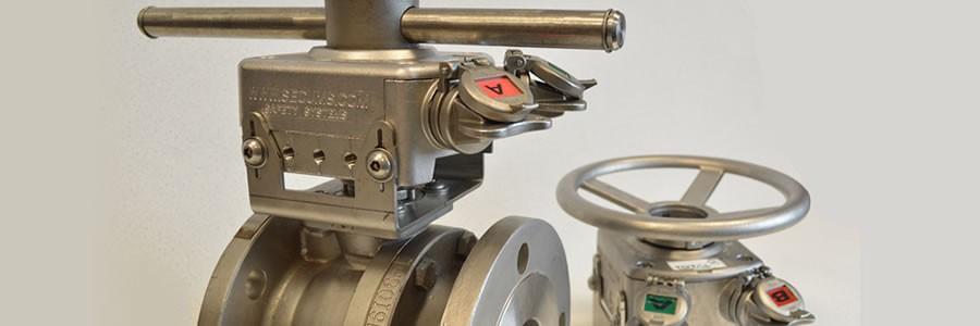 Mechanical valve interlocks