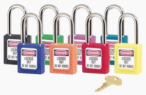 Zenex safety padlock