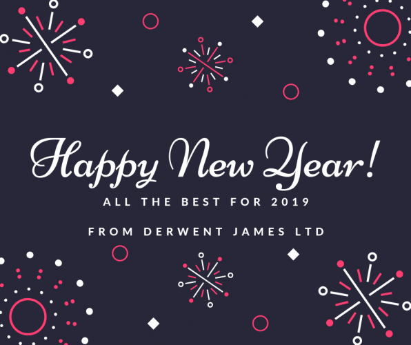 happy new year from derwent james ltd