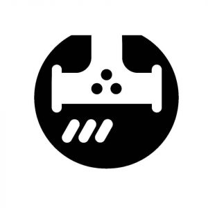 Sample valve symbol