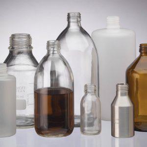 chemical sampling bottles